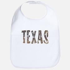 Texas Coffee and Stars Bib