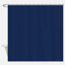 Monaco, Dark Blue Shower Curtain