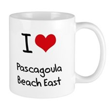 I Love PASCAGOULA BEACH EAST Mug