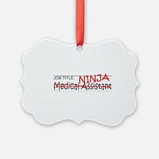 Job Ninja Med Asst Ornament