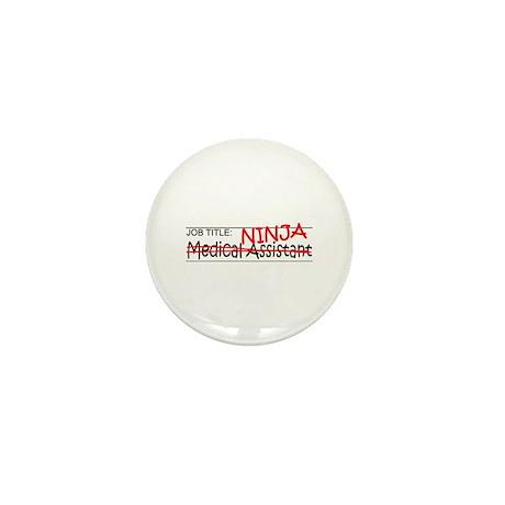 Job Ninja Med Asst Mini Button (10 pack)