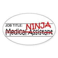Job Ninja Med Asst Decal