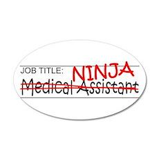 Job Ninja Med Asst Wall Decal