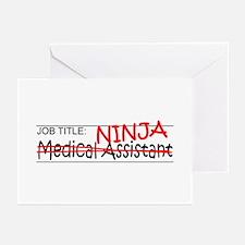 Job Ninja Med Asst Greeting Cards (Pk of 20)