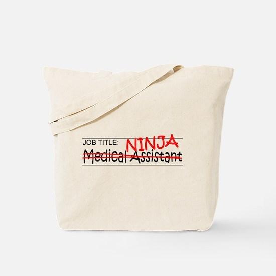Job Ninja Med Asst Tote Bag