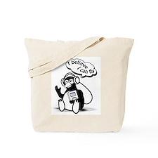 Penguin Dreamer Tote Bag