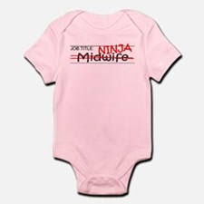 Job Ninja Midwife Infant Bodysuit