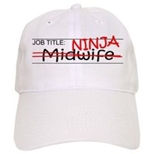 Job Ninja Midwife Baseball Cap