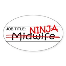 Job Ninja Midwife Decal