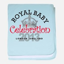 Royal Baby Celebration baby blanket