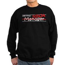 Job Ninja Manager Sweatshirt