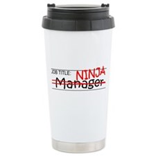 Job Ninja Manager Travel Mug