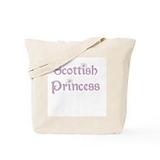 Scottish Princess Tote Bag