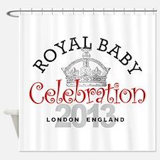 Royal Baby Celebration Shower Curtain