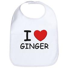 I love Ginger Bib