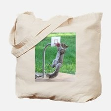 Cute Grey squirrel Tote Bag