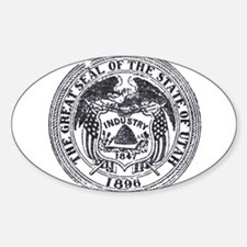 Vintage Utah Seal Decal