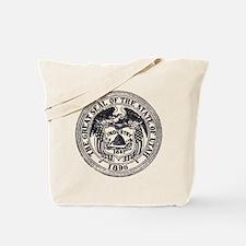Vintage Utah Seal Tote Bag