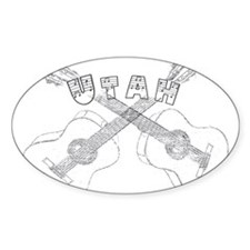 Utah Guitars Decal