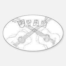 Utah Guitars Decal