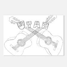 Utah Guitars Postcards (Package of 8)
