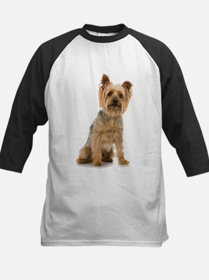 Yorkshire Terrier Kids Baseball Jersey