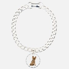 Yorkshire Terrier Charm Bracelet, One Charm