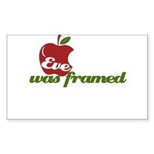 Eve was Framed Decal