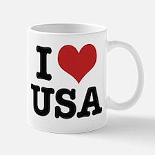 I heart the USA Mug