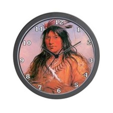 Bear Claw Warrior Wall Clock