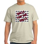 Balls For The Halls Ash Grey T-Shirt