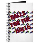 Balls For The Halls Journal