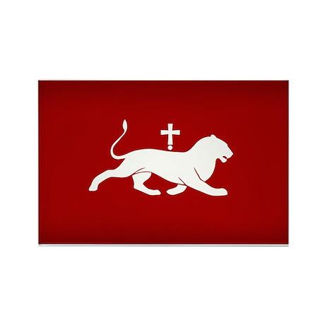 flag medieval kingdom armenia Rectangle Magnet