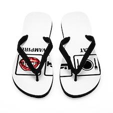 Eat Sleep Vampires Flip Flops