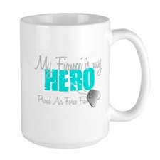 My Fiance is my Hero Mug