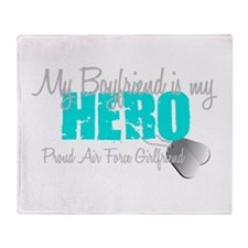 BF is my hero Throw Blanket