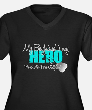BF is my hero Plus Size T-Shirt