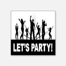 LETS PARTY Sticker