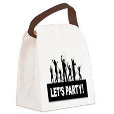 LETS PARTY Canvas Lunch Bag