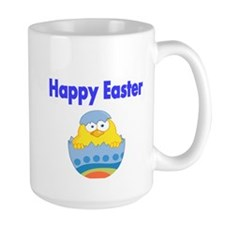 Happy Easter with chick in Egg Mug