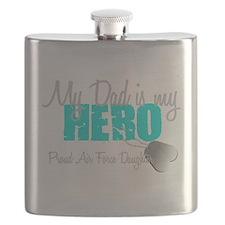 Dad is my Hero Flask