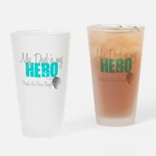 Dad is my Hero Drinking Glass
