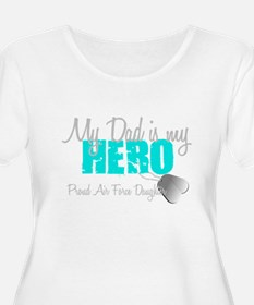 Dad is my Hero Plus Size T-Shirt