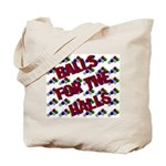 Balls For The Halls Tote Bag