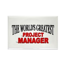 """""""The World's Greatest Project Manager"""" Rectangle M"""