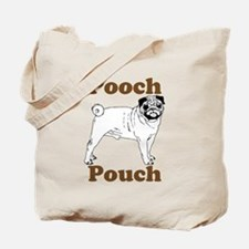 Pug Pooch Pouch Tote Bag