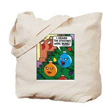 Stockings Hung Tote Bag