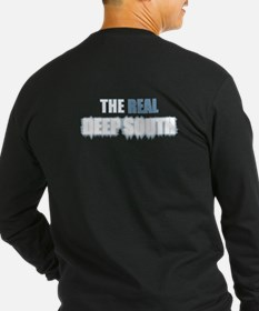The REAL DEEP SOUTH back Long Sleeve T-Shirt