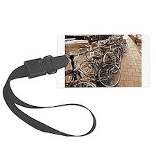 2-november bicycles SEPIA.jpg Luggage Tag