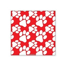 Cute Dog Paws Sticker